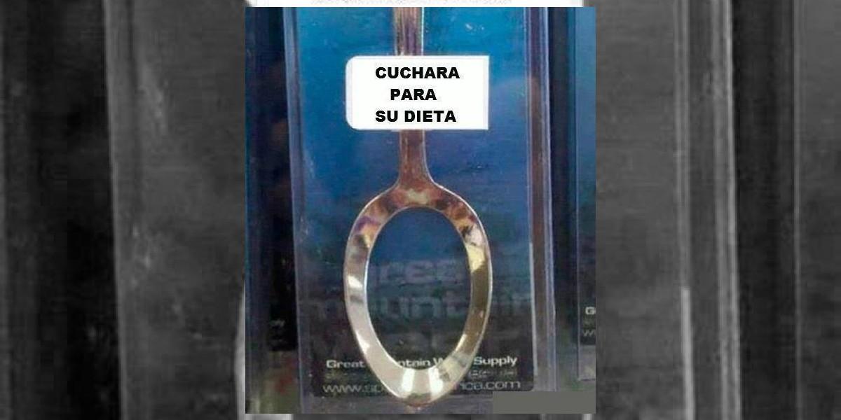 Con esta cuchara es más fácil bajar de peso