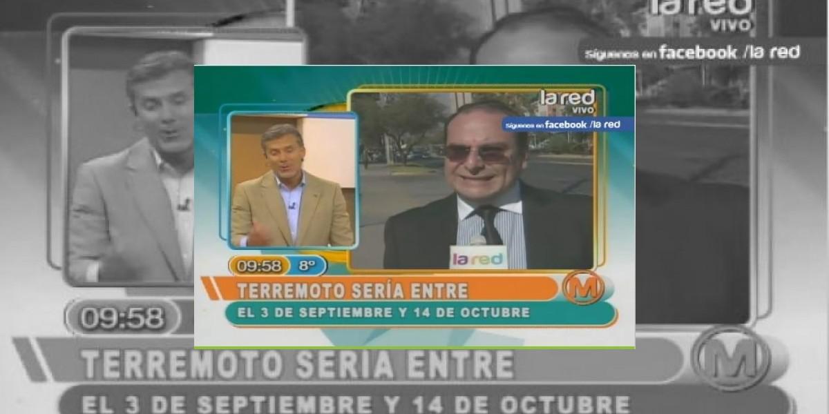 [VIDEO] Pedro Gaete anticipa nuevo megaterremoto en