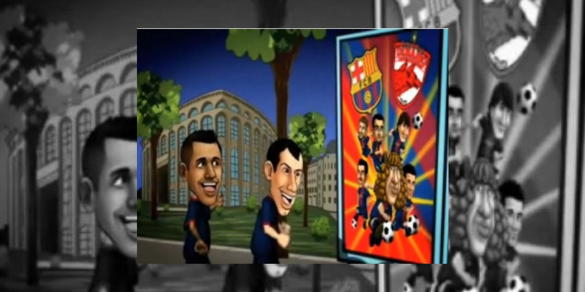 [VIDEO] Alexis Sánchez figura en temporada de los Barça Toons