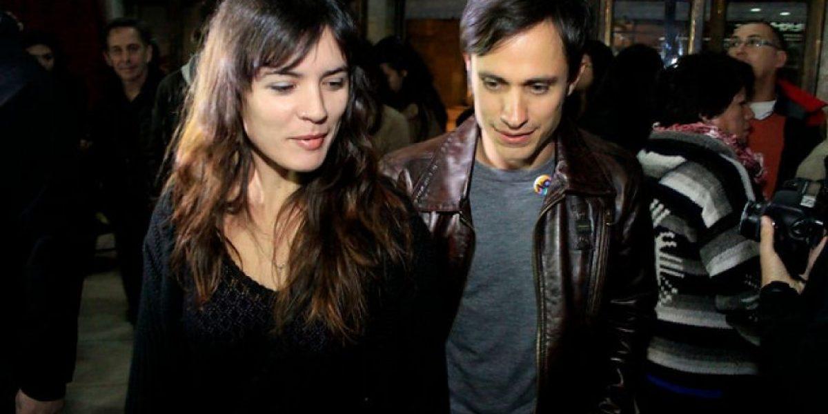 [FOTOS] Camila Vallejo destacó el pre-estreno de