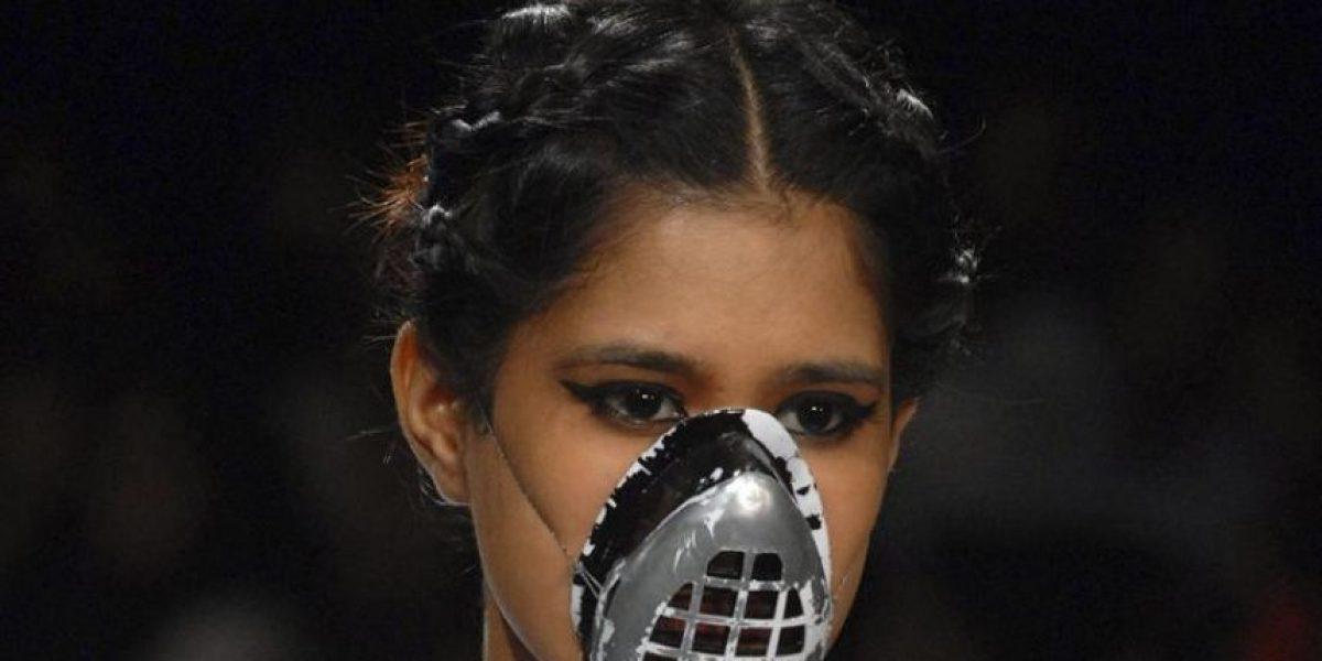 La insólita propuesta en la semana de la moda en la India
