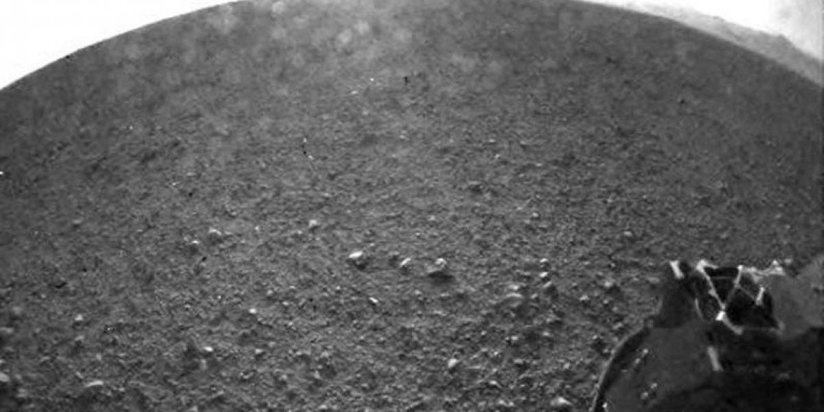 NASA muestra las primeras imágenes tomadas por el Curiosity en Marte