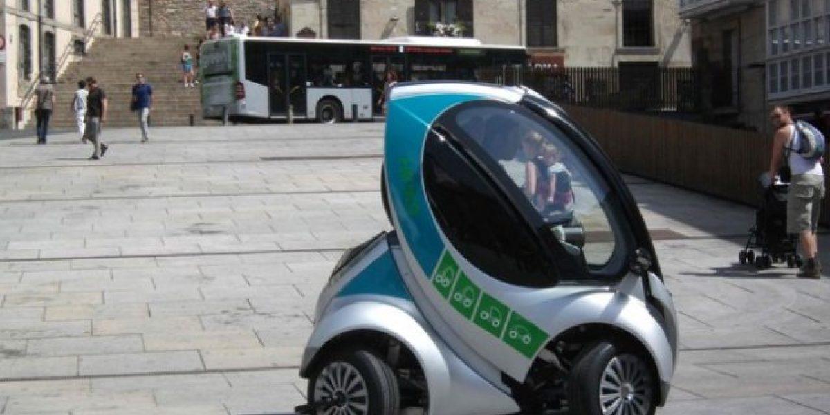 VIDEO: Hiriko es el nombre del auto eléctrico plegable creado en España