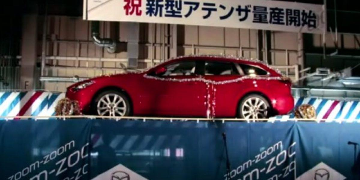 VIDEO: Es revelado el nuevo Mazda 6 Station Wagon