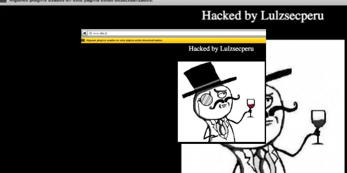 Chilevisión confirma que su sitio web fue hackeado