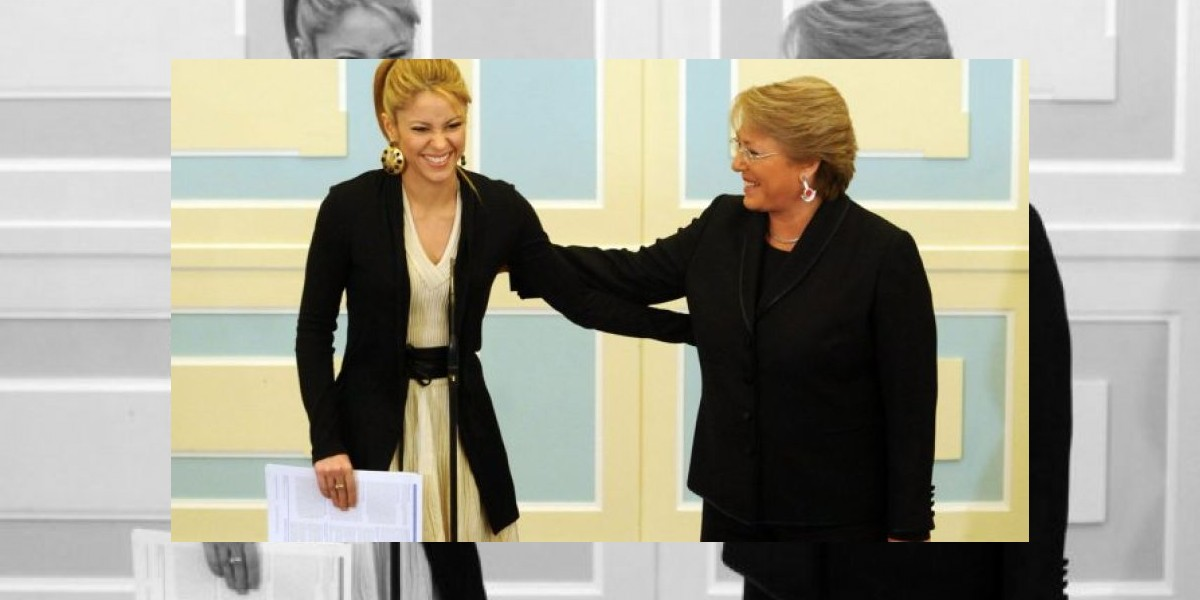¿Qué tienen en común Michelle Bachelet y Shakira?