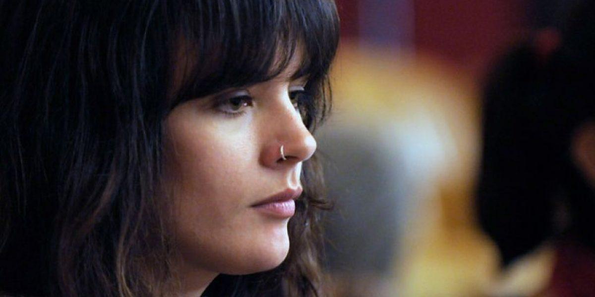 [FOTOS] Camila Vallejo llega al Congreso para rechazar proyecto de reforma tributaria