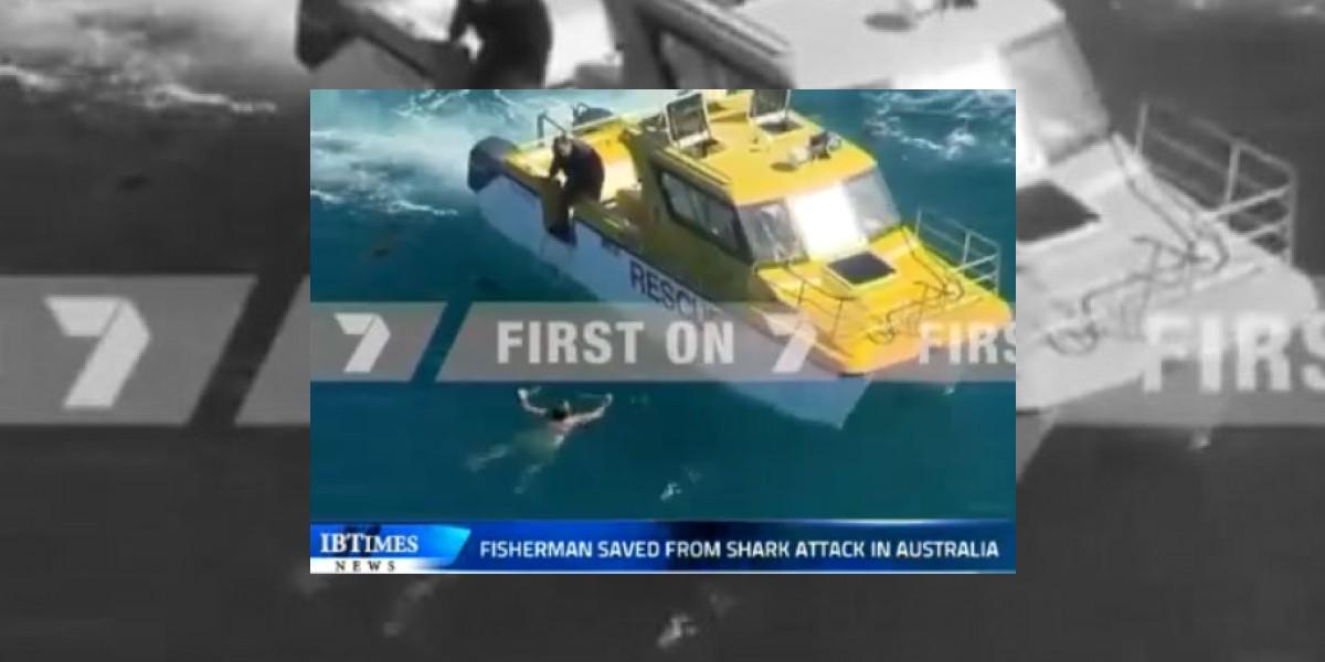 [VIDEO] Náufrago sobrevivió 20 horas en un mar lleno de tiburones