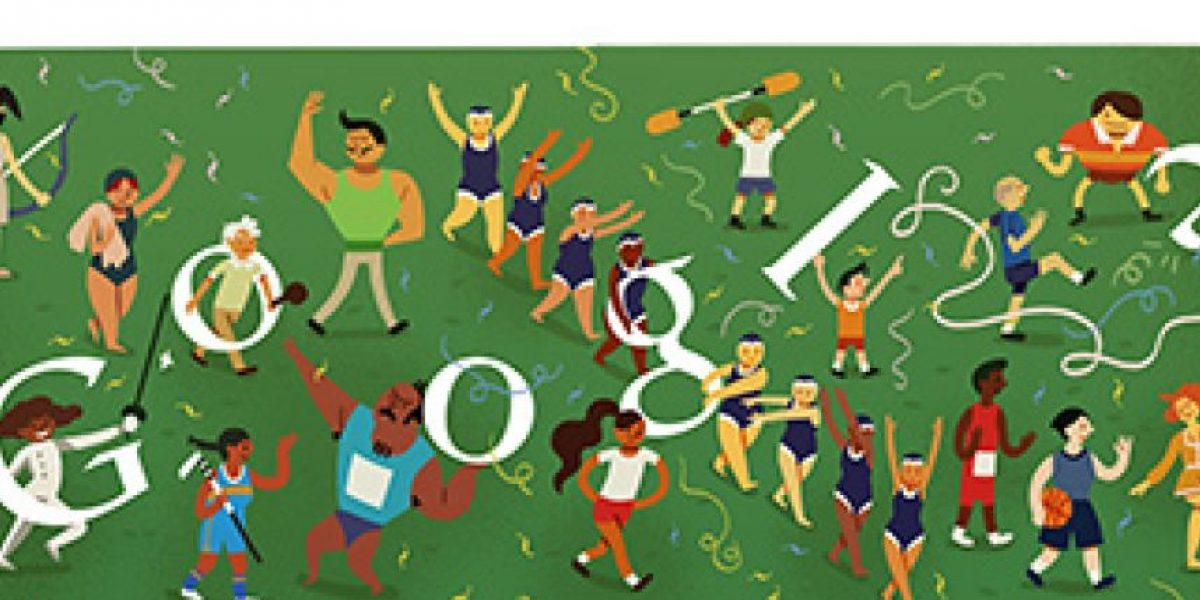 [FOTOS] Estos fueron todos los doodles que Google le dedicó a los JJOO