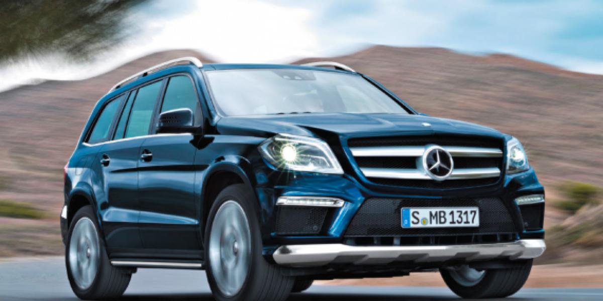 Mercedes-Benz Clase GL: Más 4x4 Pero con más glamour