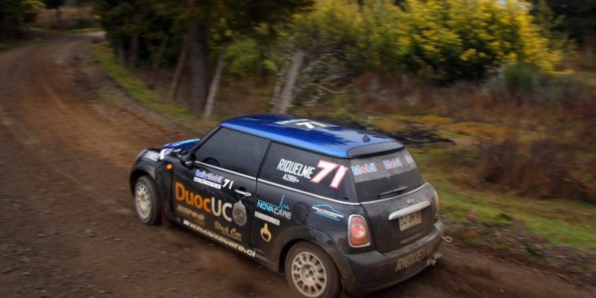 Jorge Riquelme se corona campeón de la N2 en el RallyMobil en Concepción