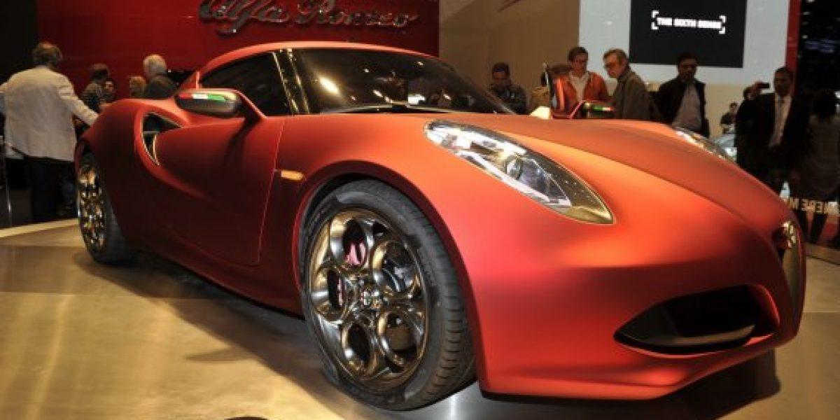 Alfa Romeo 4C coupé llegará en el 2014
