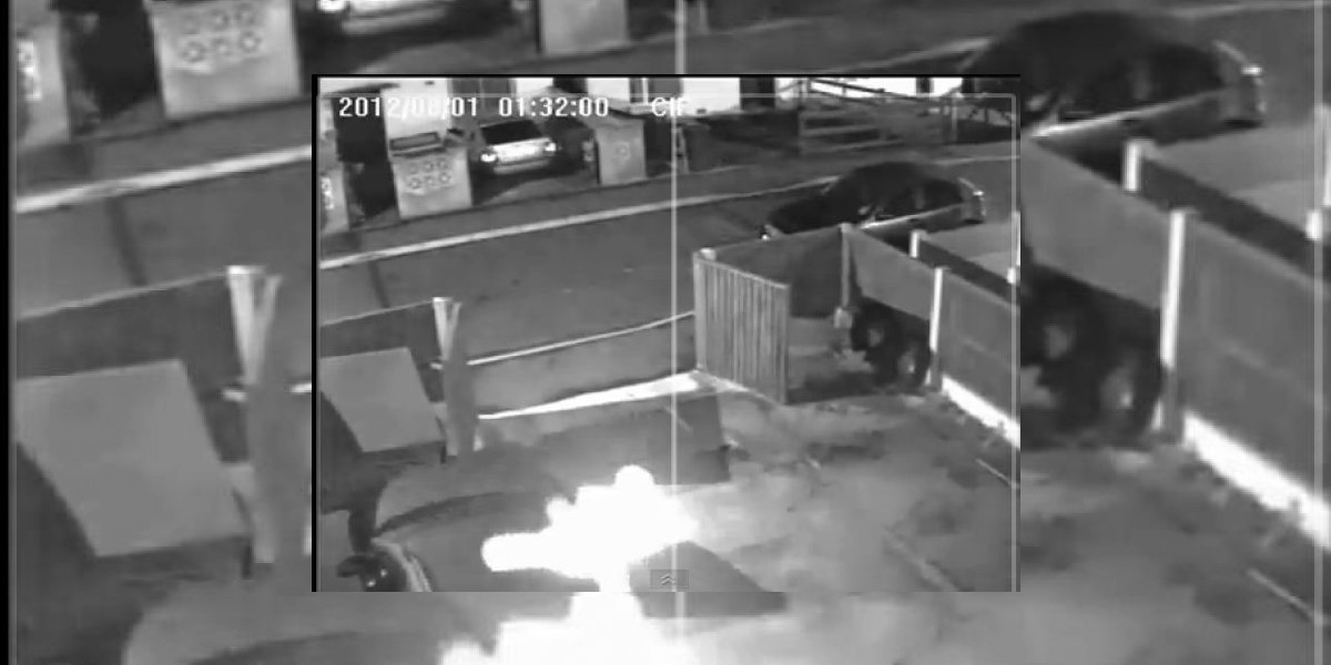 [VIDEO] ¡Tenebroso! cámara de seguridad captó esta imagen fantasmal