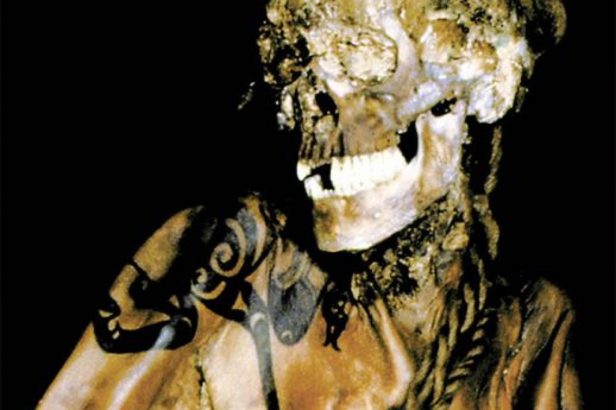 Uno de los guerreros que acompañaba a la princesa Ukok en la tumba donde fueron hallados en Siberia. Foto:siberiantimes.com. Imagen Por: