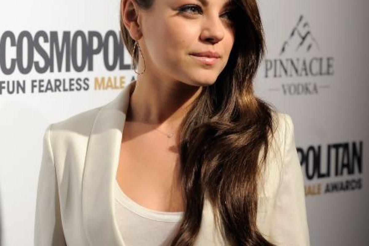 """La actriz Mila Kunis cumple 29 años este 14 de agosto. En su cumpleaños te mostramos las mejores fotografías de la bella protagonista de """"Amigos con beneficios"""". Foto:Getty Images. Imagen Por:"""
