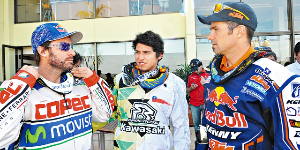 El piloto más joven inscrito en un Dakar es chileno y magallánico