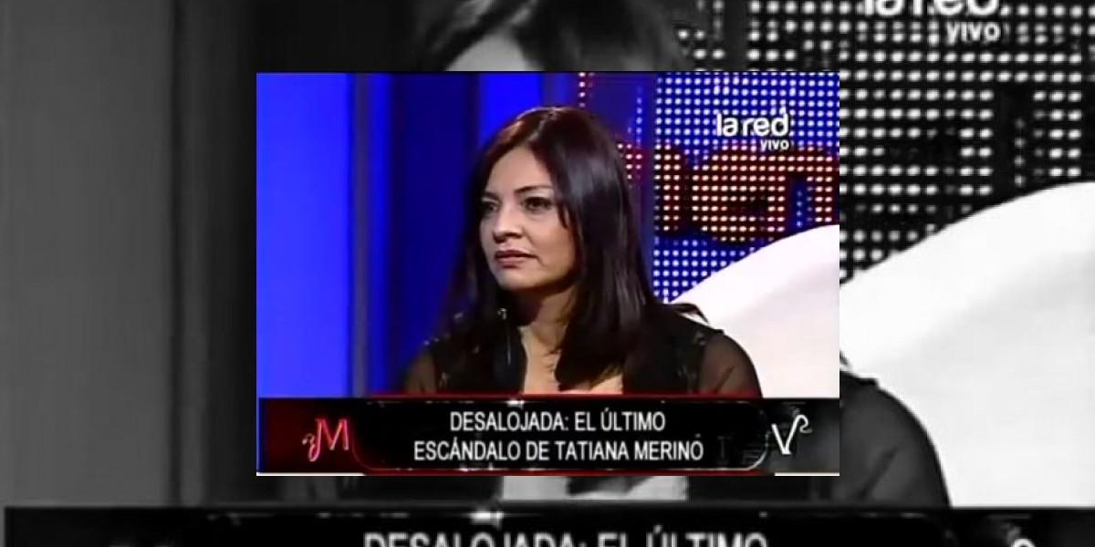 [VIDEO] Tatiana Merino acusa a Primer Plano de armar