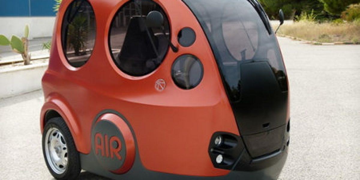 Airpod, el auto que funciona con aire pronto estará entre nosotros