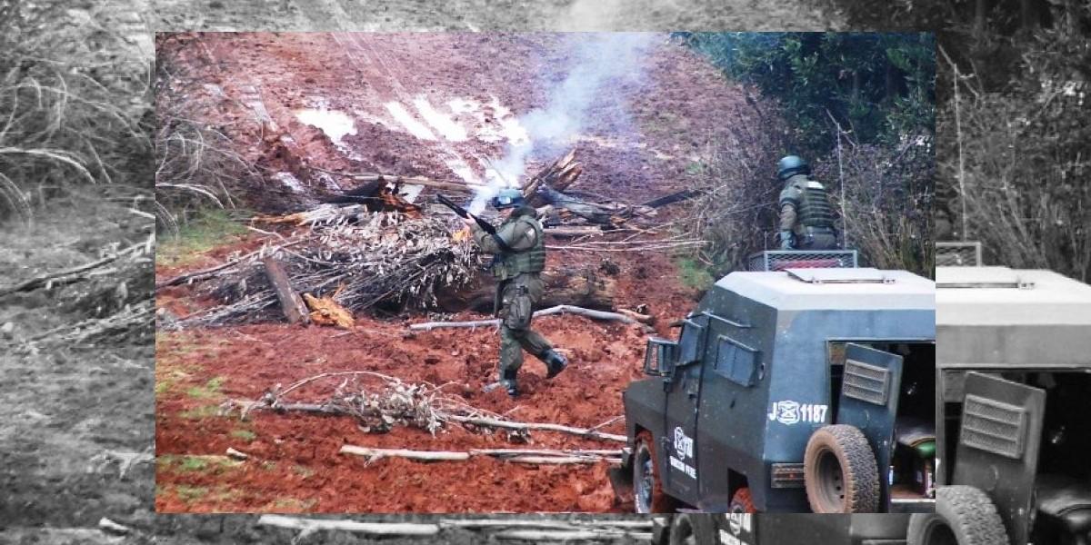 Nuevo atentado incendiario se registró en la Araucanía