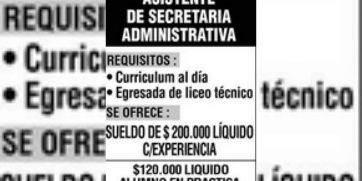 Empresa constructora requiere secretaria administrativa