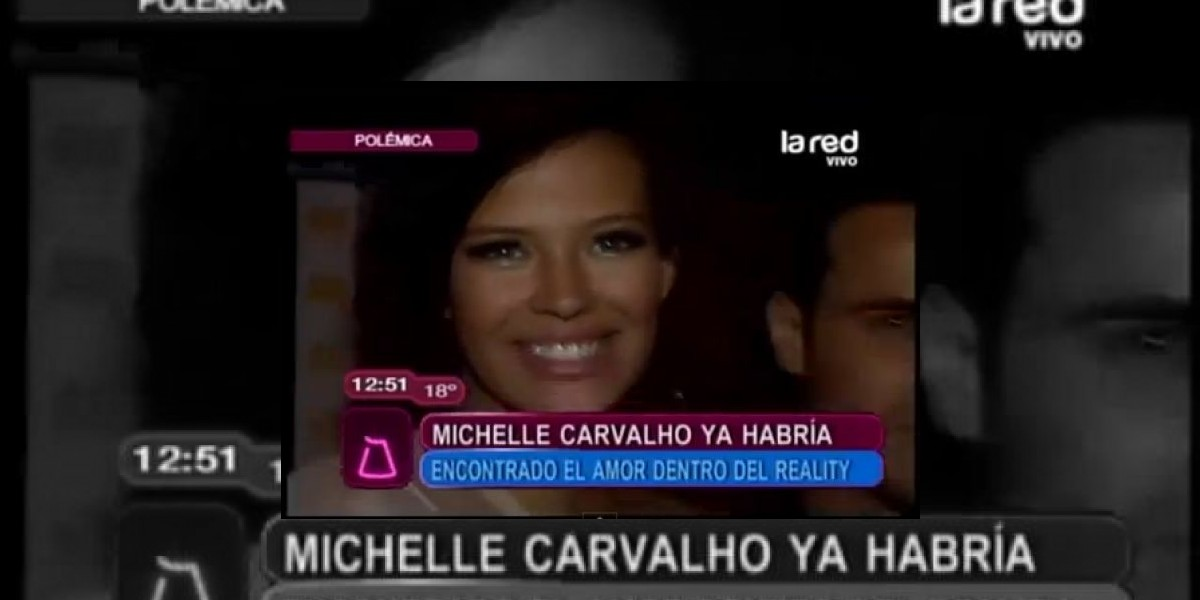 [VIDEO] Michelle Carvalho ya habría encontrado el amor dentro del reality