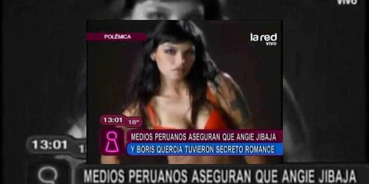 [VIDEO] Medios peruanos aseguran que Angie Jibaja y Boris Quercia tuvieron affaire