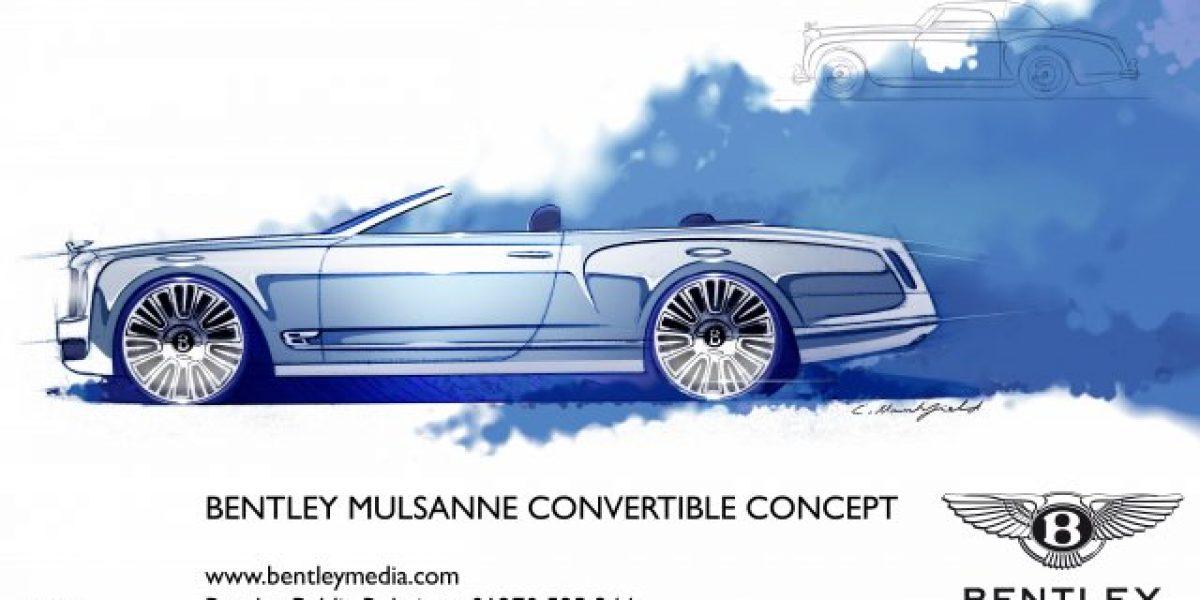 New Bentley Mulsanne se presentará en septiembre