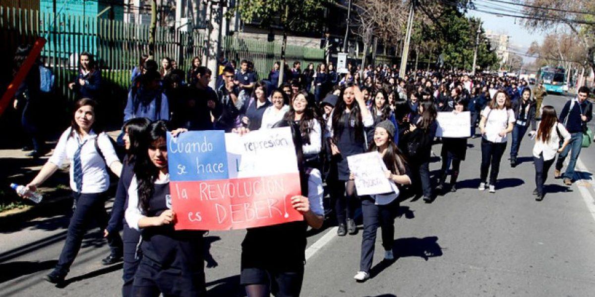 Tomas y retomas: Secundarios no dan tregua y continúan con las manifestaciones