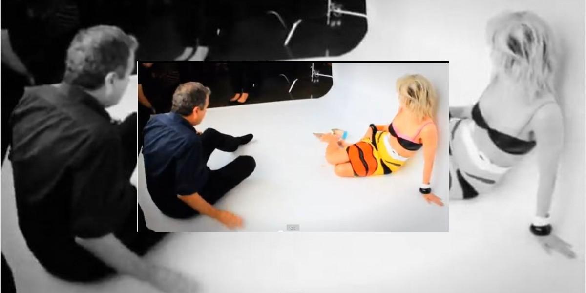 [VIDEO] Nicole Kidman posa sexy para sesión de fotos