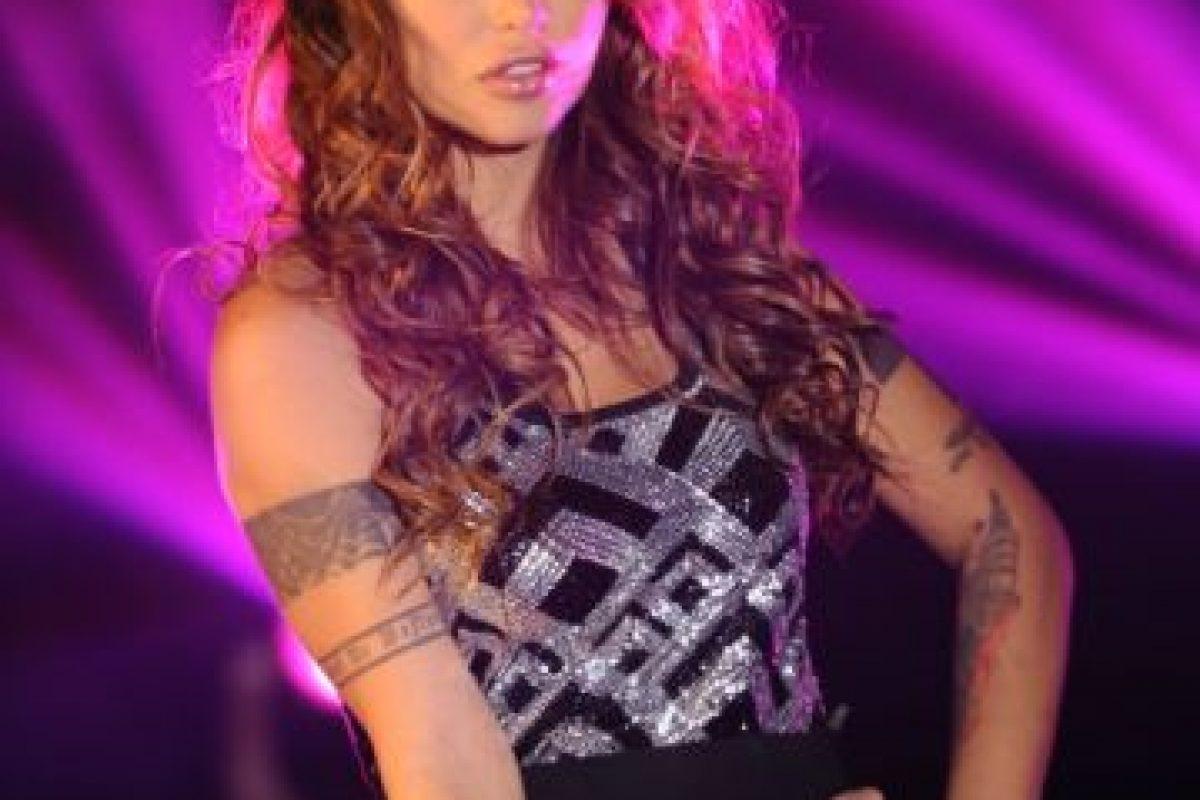 """Angie Jibaja: Actriz y modelo peruana. Protagonista de la película chilena en """"El Rey de los Huevones"""" Foto:Canal 13. Imagen Por:"""