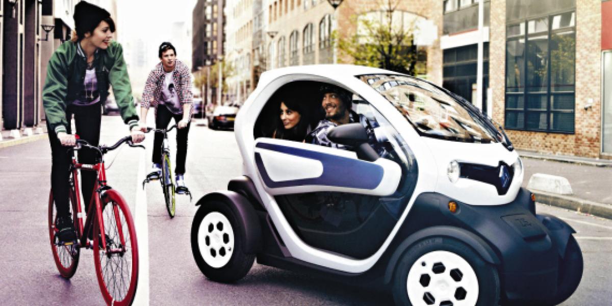 Autotest: Renault Twizzy: El desconocido más cool jamás antes visto