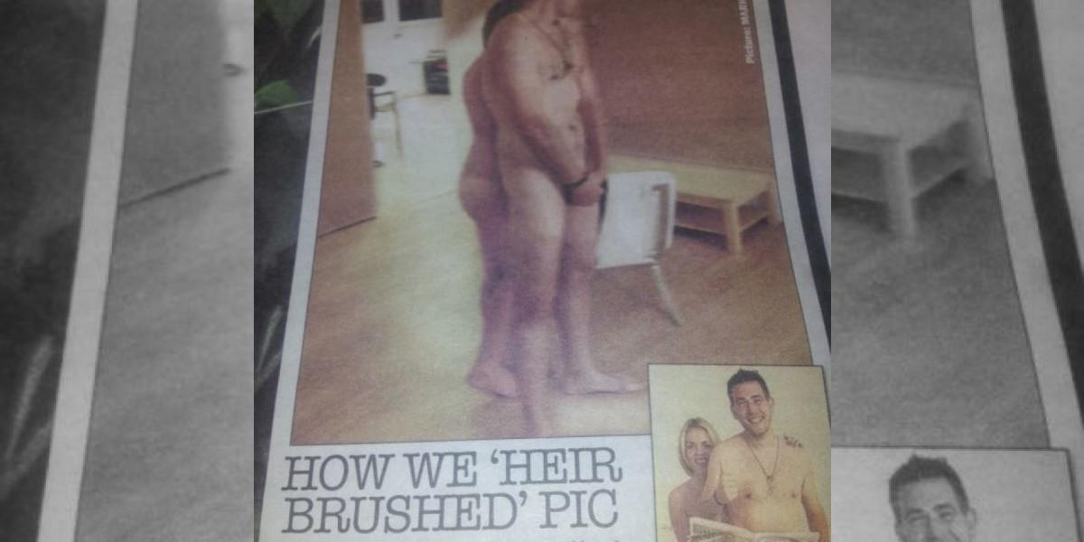 Prensa británica no puede publicar fotos del Príncipe Harry desnudo e inventa esto