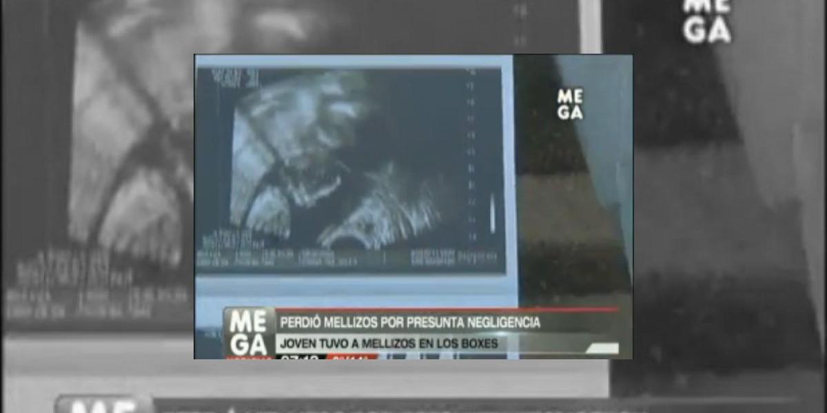 Denuncian negligencia: Joven tiene a sus bebés muertos en el pasillo del Félix Bulnes