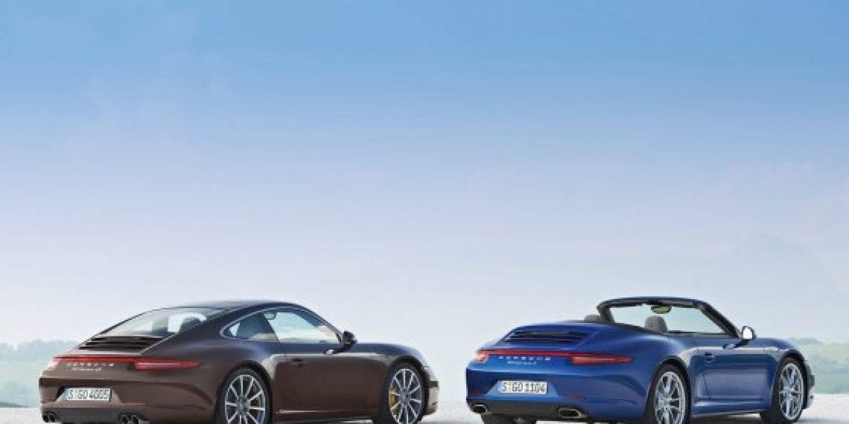 FOTOS: Los nuevos Porsche Carrera 911 4 y 4S AWD 2013