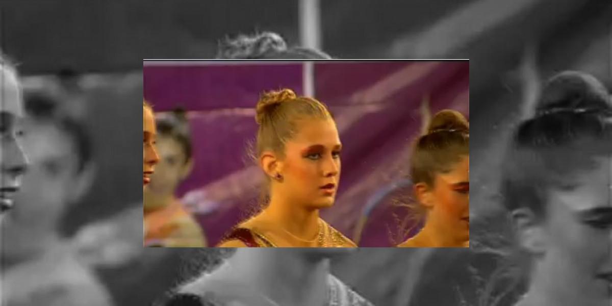 [VIDEO] Hija de Iván Zamorano quiere ser gimnasta