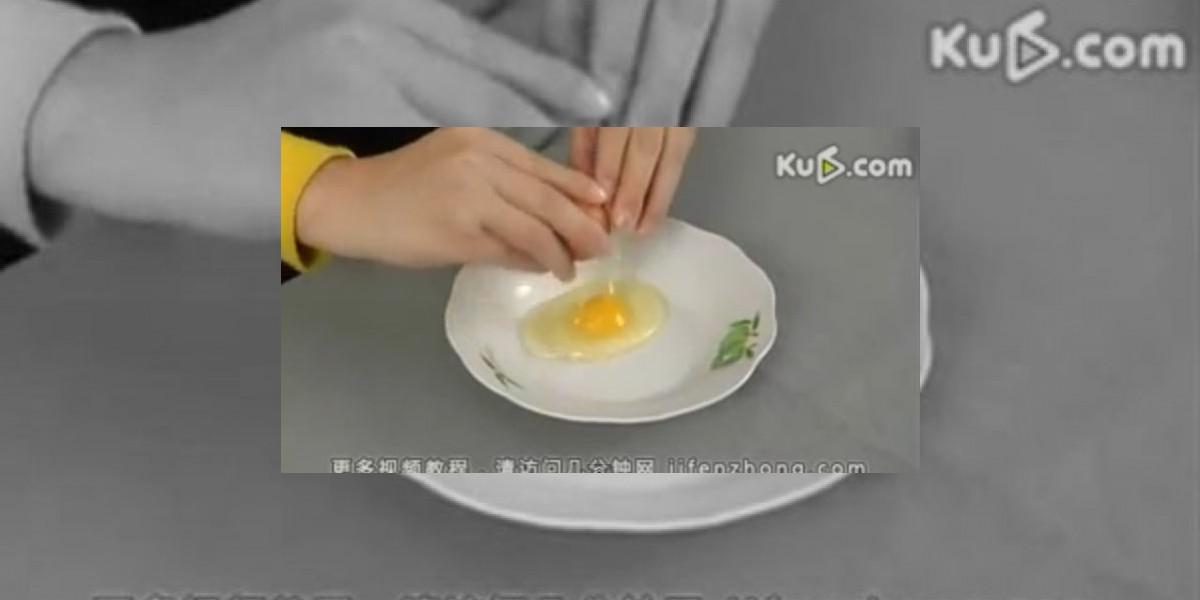 [VIDEO] Cómo separar la yema del huevo con una botella de plástico