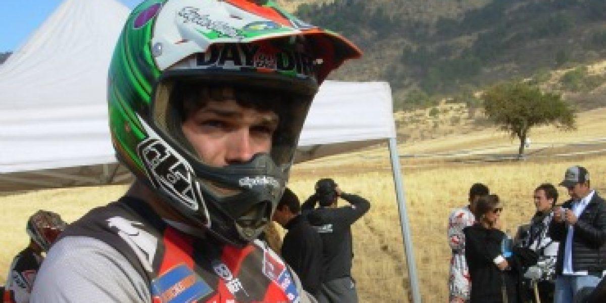 Benjamín Israel triunfó en el Moto Enduro FIM de Huelquén