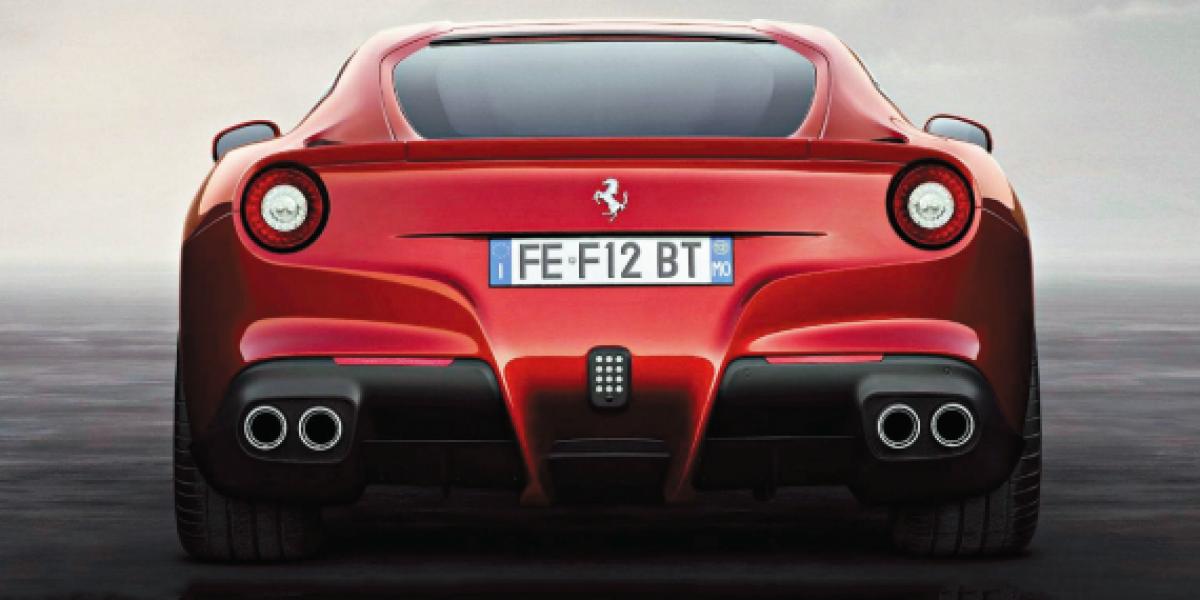 Todo lo que tienes que saber del nuevo Ferrari F12berlinetta