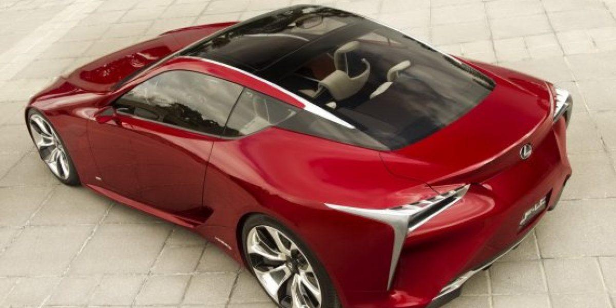 FOTOS: Lexus presentará al LF-LC Coupé Híbrido