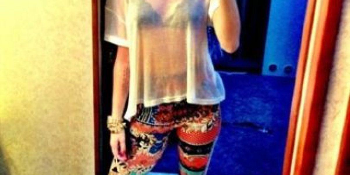 [FOTOS] Miley Cyrus presume de su