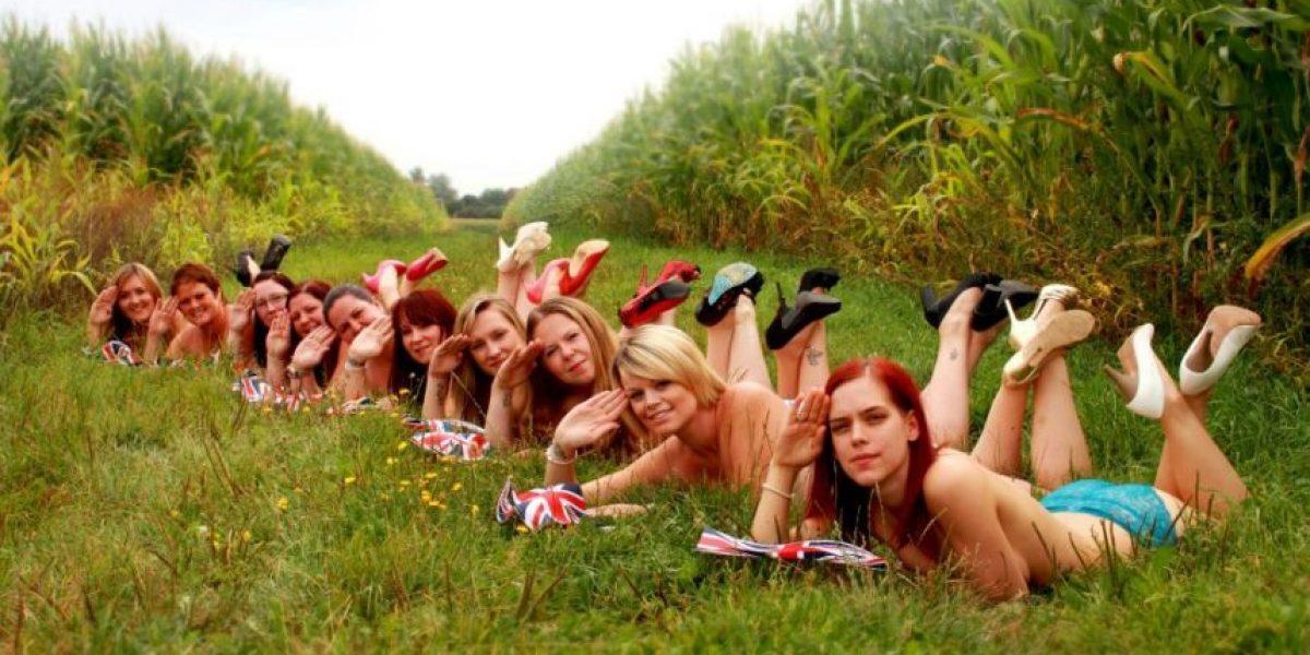 Cientos de personas se desnudan en Facebook en apoyo al príncipe Enrique