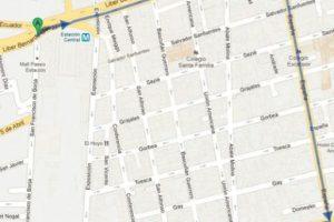 La marcha se dirigirá al sur a Abate Molina con Blanco donde se instalará un escenario. Imagen Por: