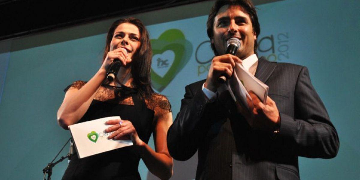 [FOTOS] Jorge Zabaleta y Tonka Tomicic brillan como animadores de la