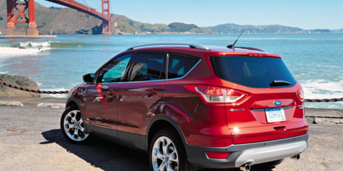 FOTOS: Ford Escape, renovada, potente y tecnológica