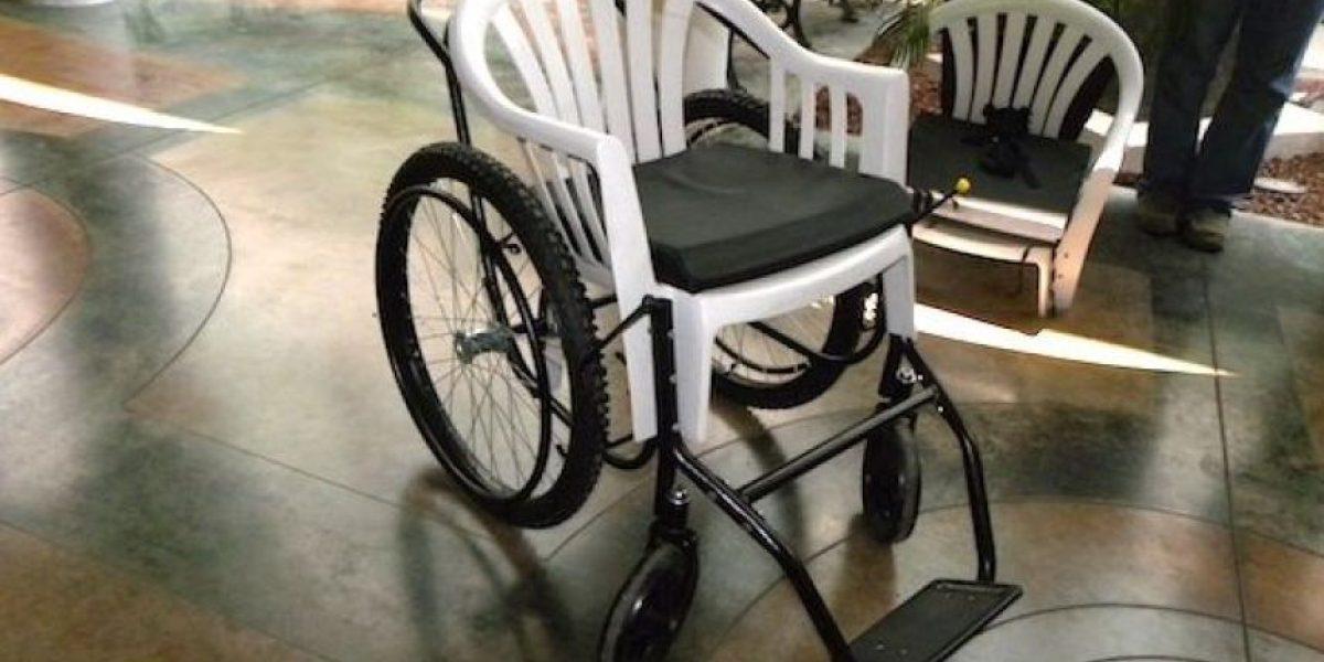 [FOTOS] Burlas y críticas en México por entrega de estas sillas de ruedas