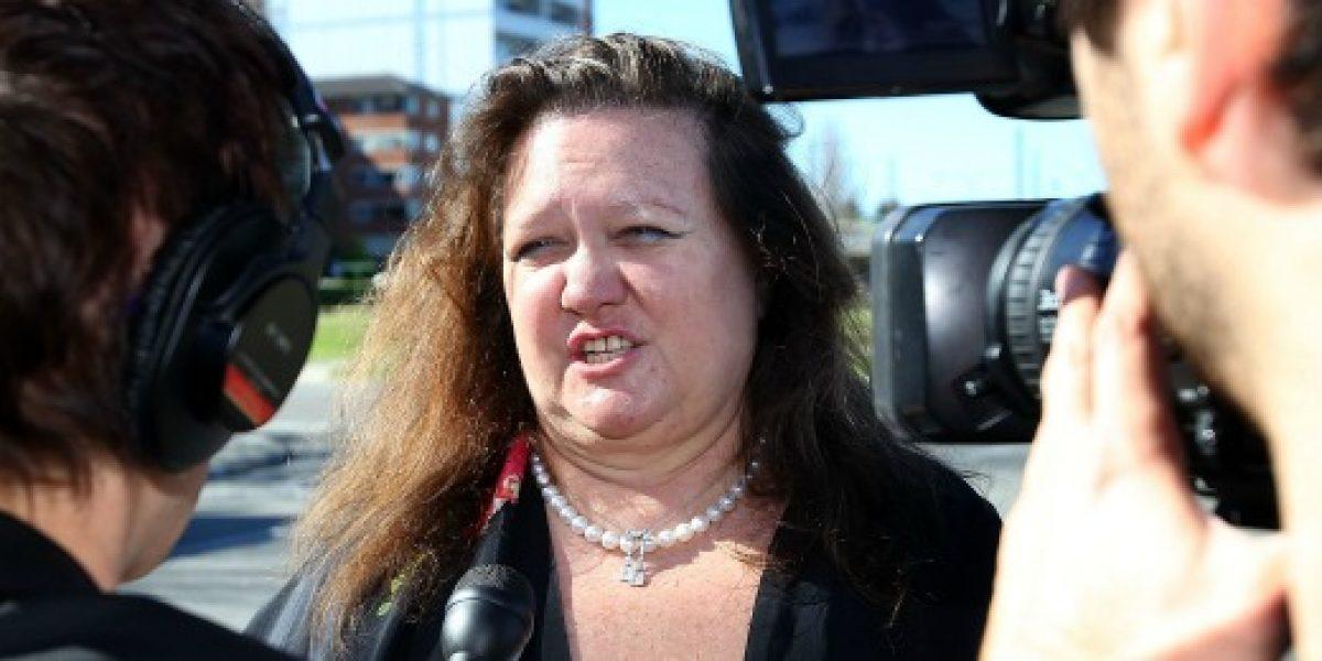 Ella es la mujer más rica del mundo que quiere rebajar el sueldo mínimo en Australia