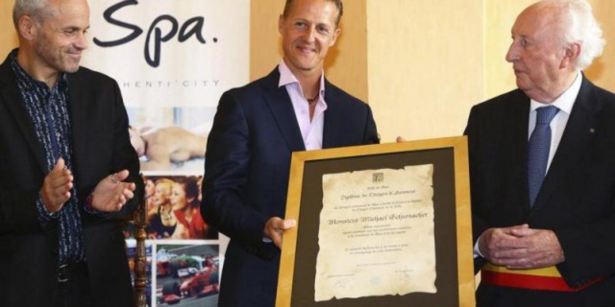La ciudad de Spa nombra ciudadano de honor a Michael Schumacher
