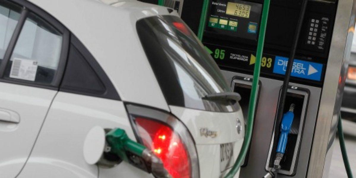 15 pesos subirá la bencina la próxima semana