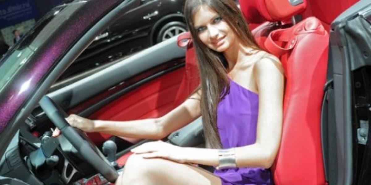 FOTOS: Las mujeres más lindas del Salón de Moscú parte II
