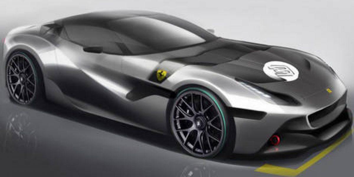 El caprichoso personaje que se mandó a hacer un Ferrari único